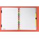 Caderno Inteligente Grande capa dura universitário 60 folhas Neon Viibes Ambras
