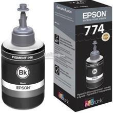 REFIL DE TINTA T774120 PRETO DE TINTA 140 ML T774120 TANQUE P/ IMP M100/105/200 PRETO EPSON
