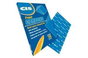 Carbono manual A4 Azul CIS pacote com 100 folhas