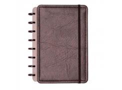 Caderno Inteligente A5 capa dura universitário 60 folhas Ecológico preto Ambras