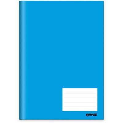 Caderno brochurão capa dura 96 folhas sem pauta 8930 azul Foroni unid.