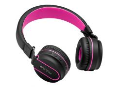 Fone de ouvido Pulse Blueetooth Fun preto/rosa Multilaser PH216 unid.