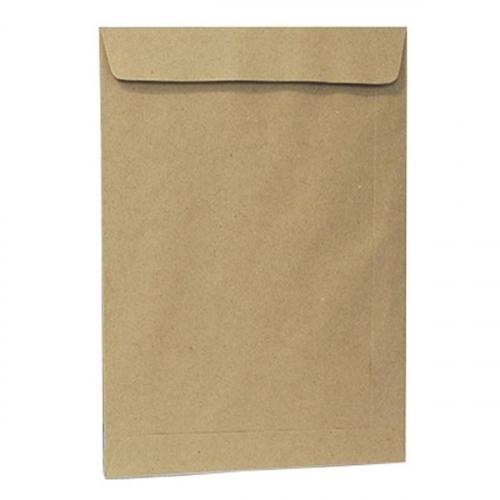 Envelope saco kraft 25 x 35 80grs unid.