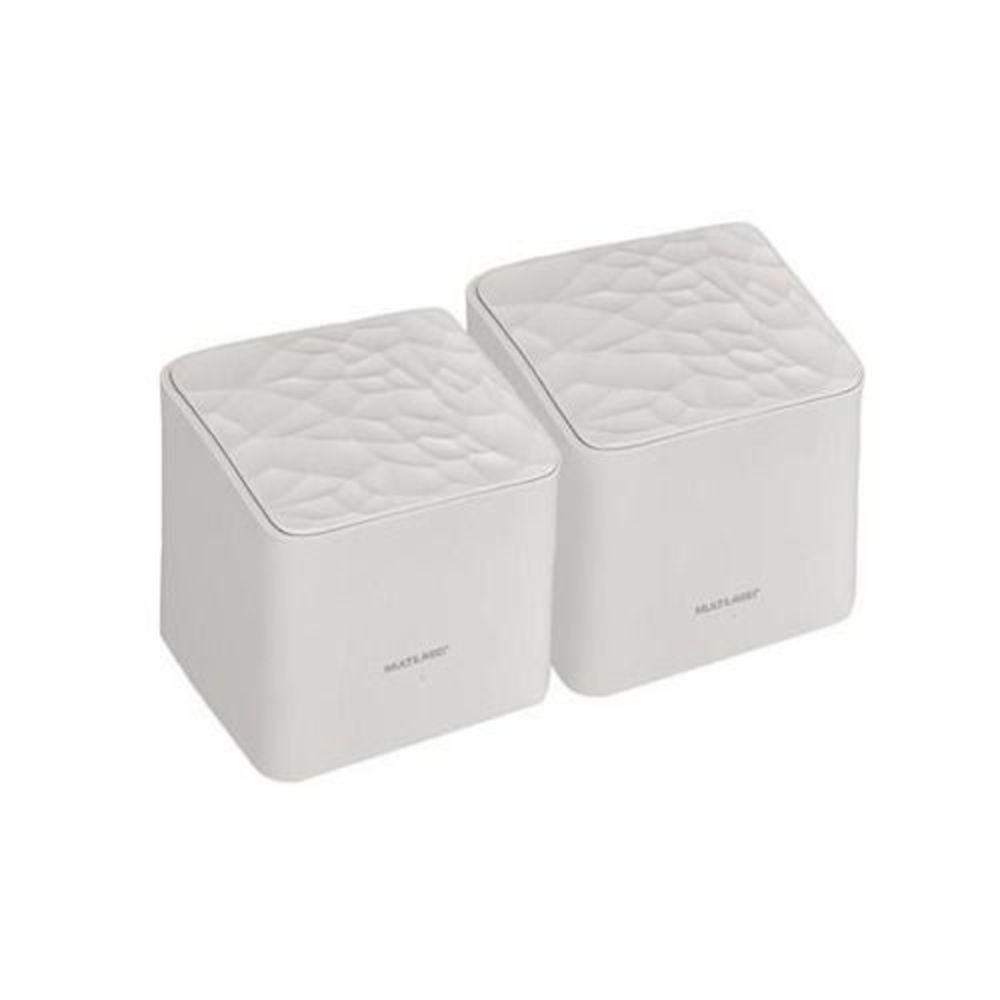 Roteador Mesh 1200MBPS dual band AC1200 RE010 branco Multilaser