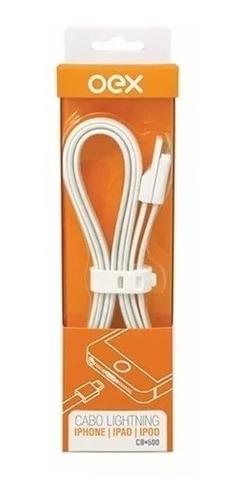 CABO LIGHTNING/USB P/ IPHONE CB501 OEX