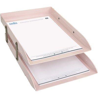 Caixa correspondência articulada dupla rosa 3043.W Dello unid.