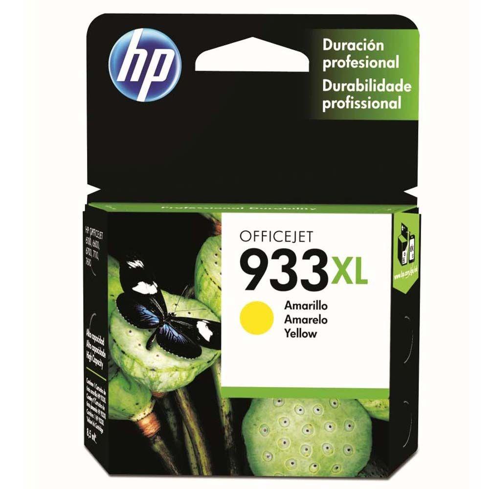 Cartucho de impressão 933XL CN056AL Amarelo HP unid.