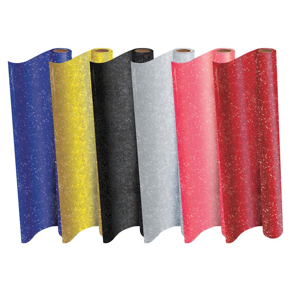 Contact com Glitter cores sortidas 50cm