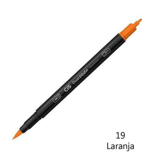 Marcador dual bruch 19 laranjal Cis unid.