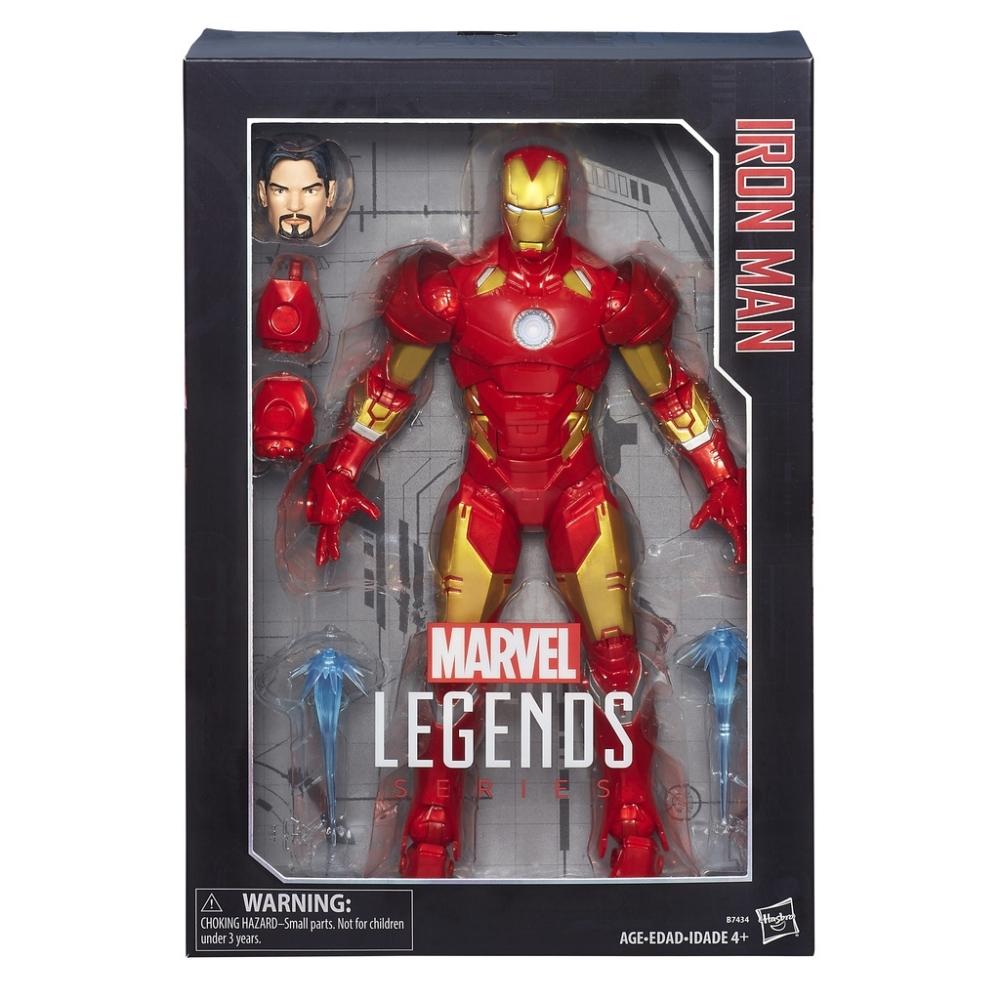 Figura Iron Man Legends series B7434 Hasbro