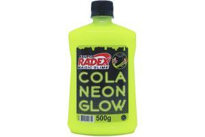 Cola Glow Slime 500 grs Neon Amarela 7304 Radex unid.