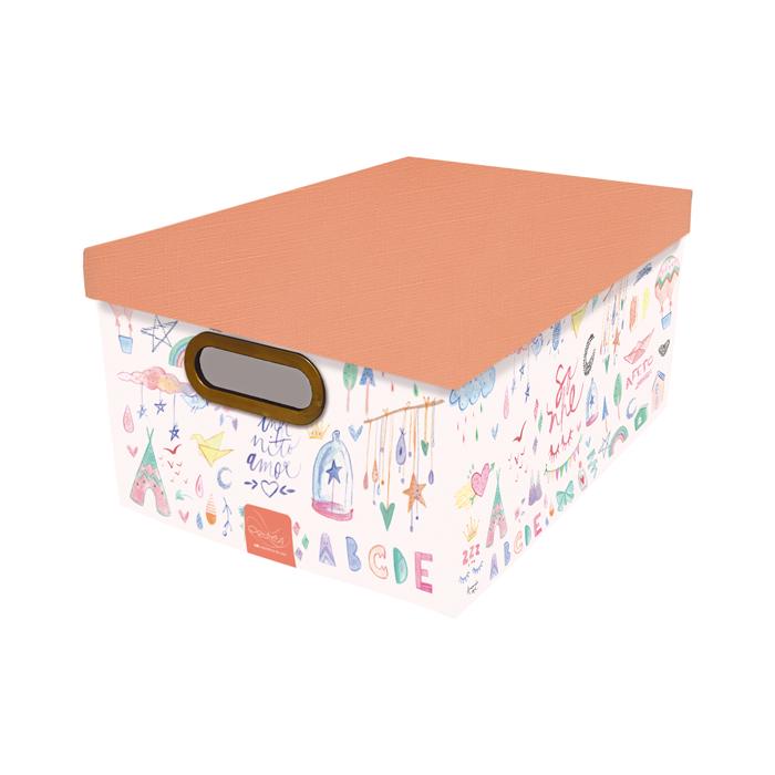 Caixa organizadora gg criança feliz Dello 2213.02.0005 unid.