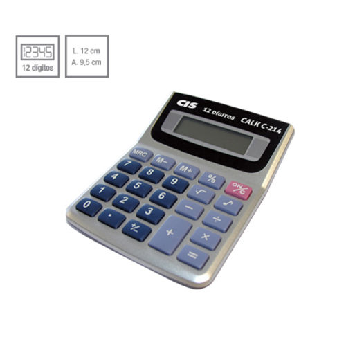 Calculadora de mesa 12 dígitos C-214 CIS