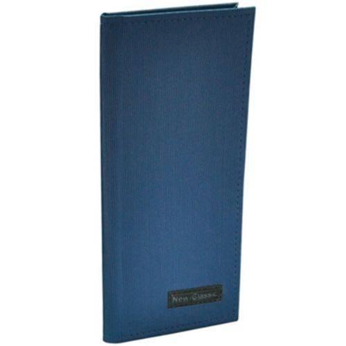 Porta cartão visita com 160 lugares Azul DAC unid.