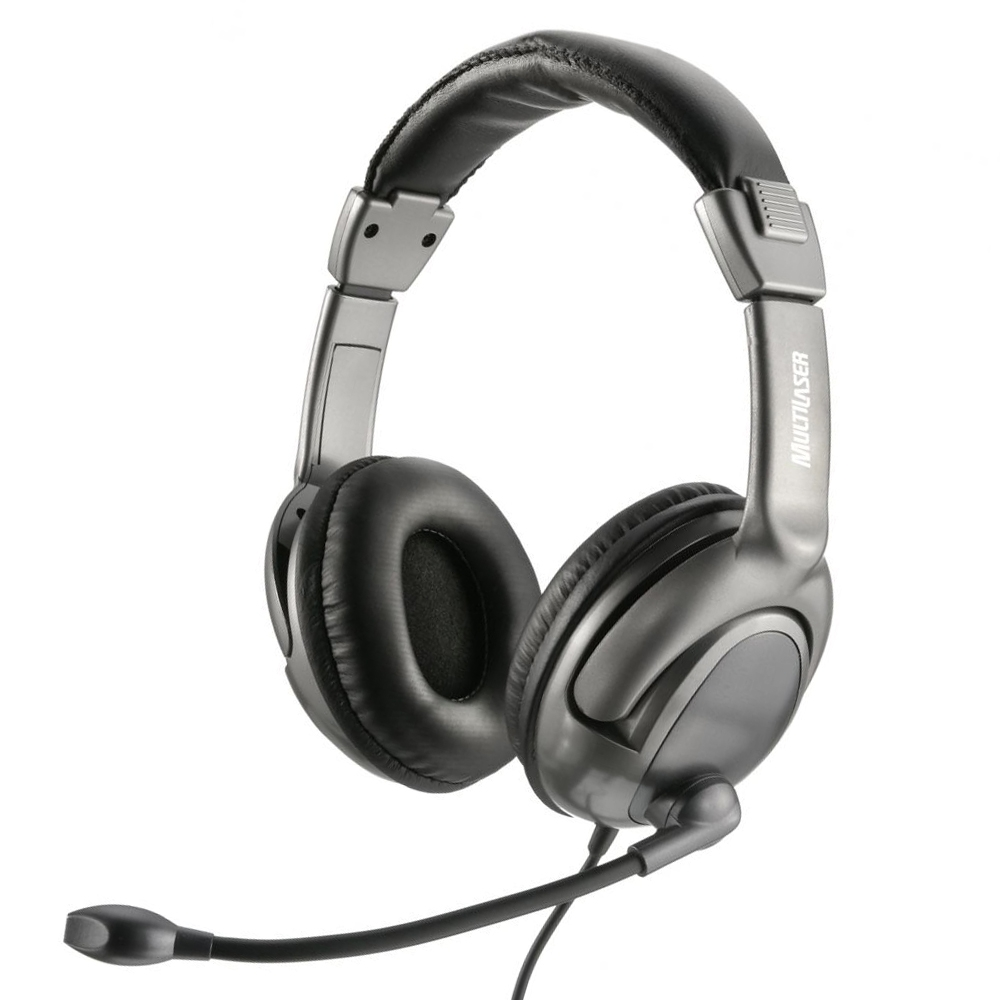 Headset com microfone USB Multilaser PH043 unid.