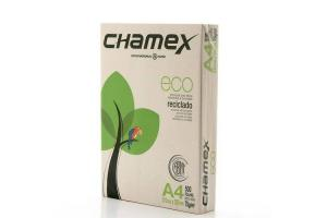 Papel sulfite reciclado A4 75g 210x297mm com 500 folhas Chamex Ecológico unid.