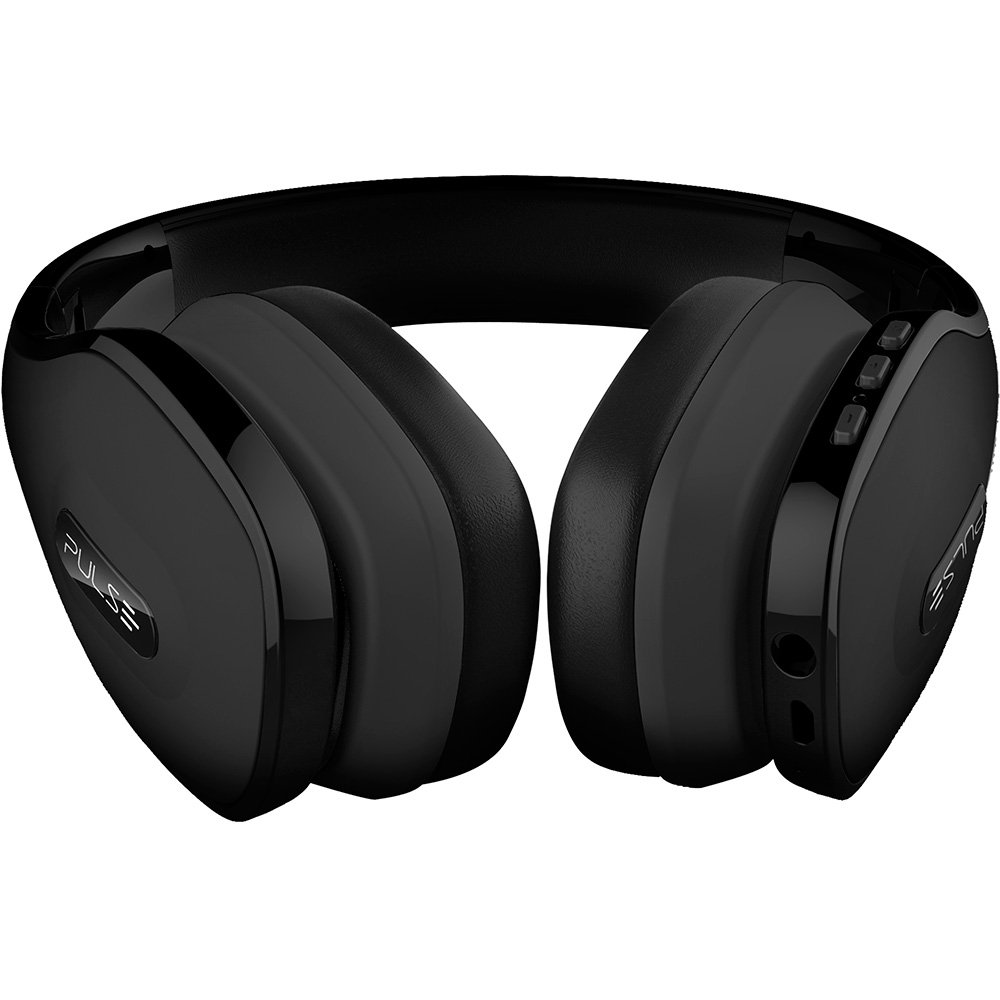 Fone de ouvido Headphone Bluetooth Pulse preto Multilaser PH150 unid.