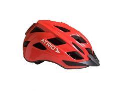 Capacete para Ciclismo LED 2 M vermelho Atrio BI107 unid.
