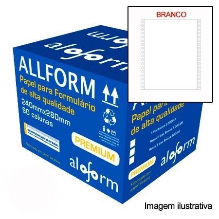 Formulário contínuo 80 colunas 3 vias 409 All Form caixa 1000 unid.
