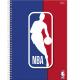 Caderno capa dura universitário 96 folhas NBA 9300 Foroni  unid.