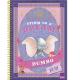 Caderno capa dura universitário 96 folhas Disney Classics 8360 Foroni unid.