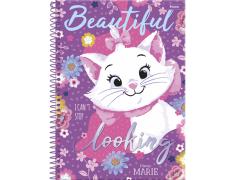 Caderno capa dura universitário 96 folhas Marie 8310 Foroni unid.