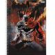 Caderno capa dura universitário 96 folhas Batman Teen 6040 Foroni unid.