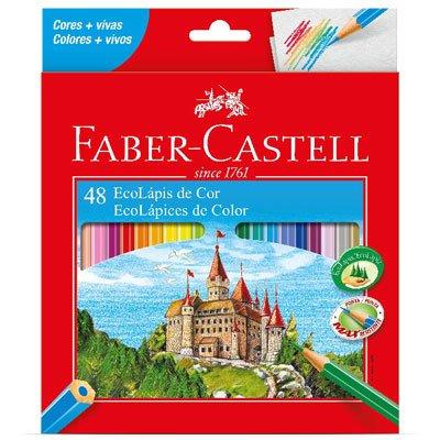 Lápis de cor GDE com 48 cores 120148G Faber unid.