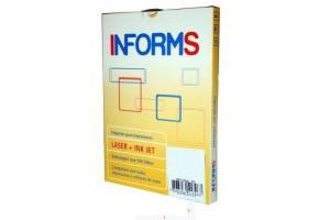 Etiqueta 2853 33,9 x 101,6mm 100 folhas com 14 unidades Informs caixa