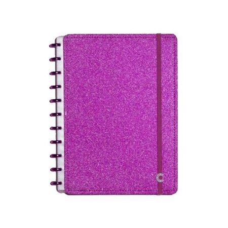 Caderneta Inteligente capa dura 50 folhas CIIN1051 Glitter Pink Ambras