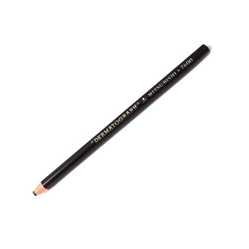 Lápis para desenho dermatográfico 7600 Preto Mitsubishi