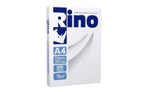 Papel sulfite alcalino Rino 210 x 297 A4 75 grs Chamex pacote com 500 folhas