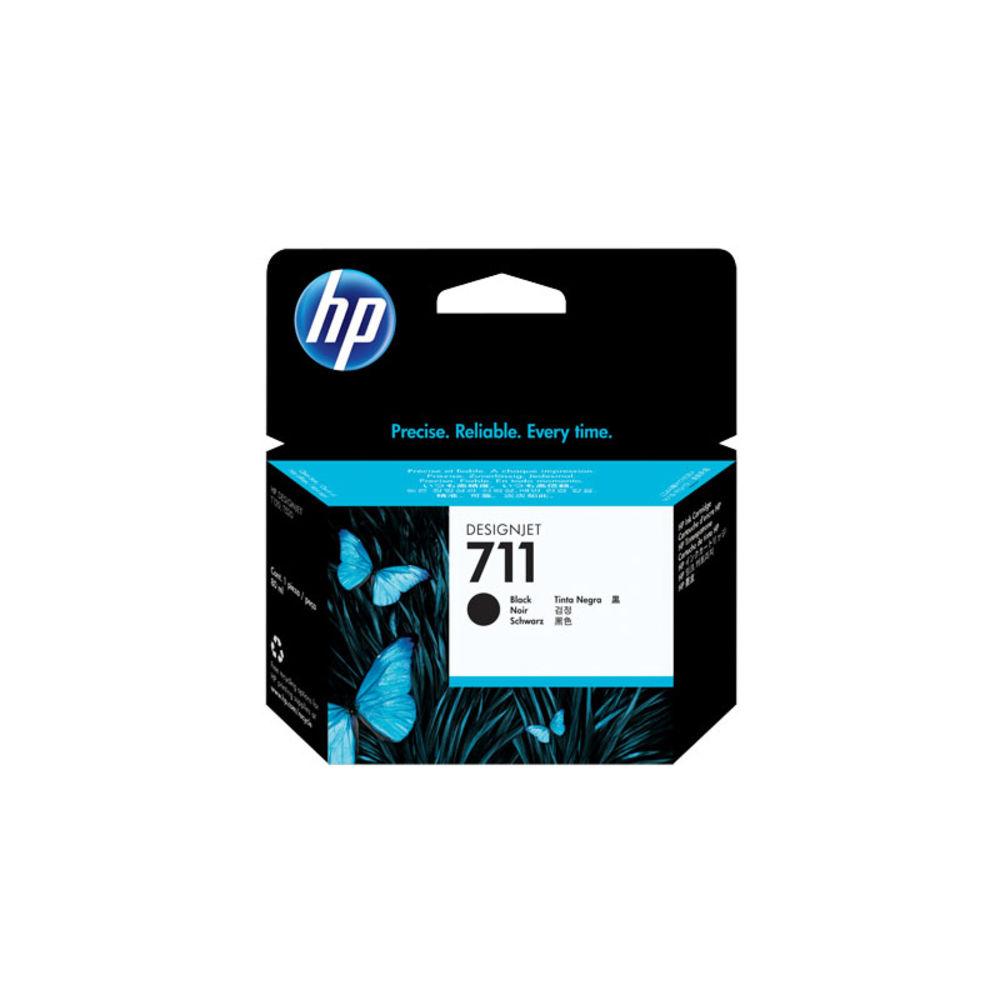 Cartucho de tinta 711 CZ133AB 80ml Preto HP unid.