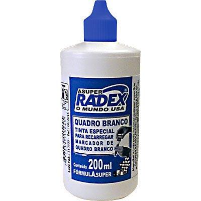 Tinta para marcador de quadro branco 200ml Super 5245 Azul Radex unid.