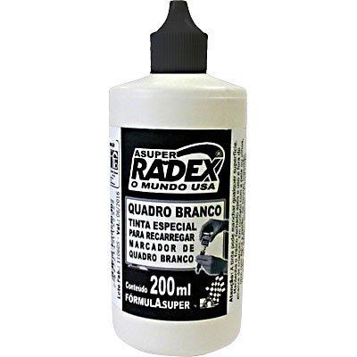 Tinta para marcador de quadro branco 200ml Super 5252 Preto Radex unid.