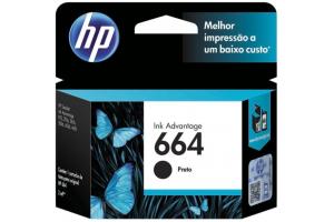CABECA DE IMPRESSAO 664 F6V29AB 2ML PRETO HP UND