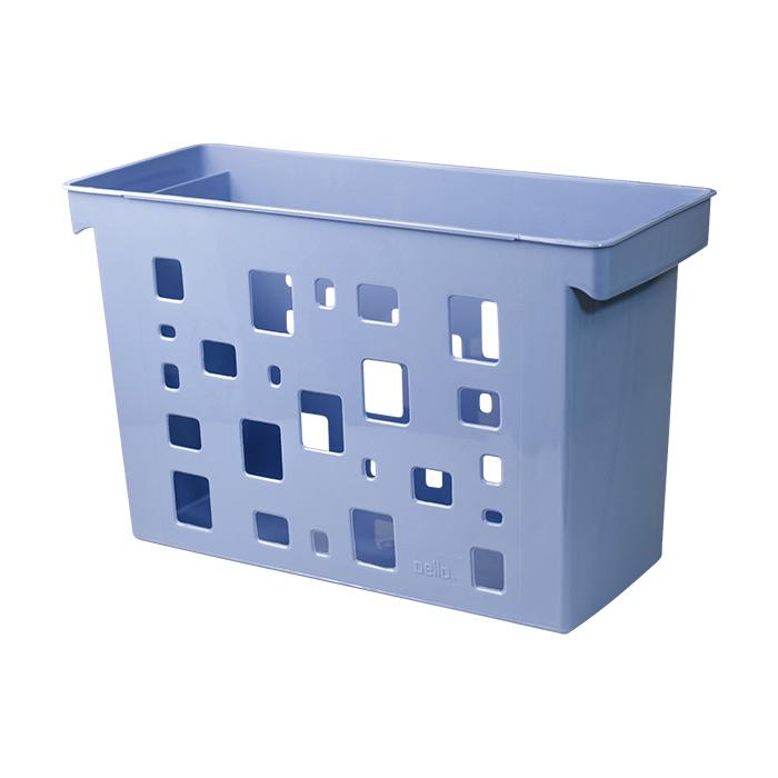 Caixa arquivo multiuso DelloCollor azul claro 0329.B unid.