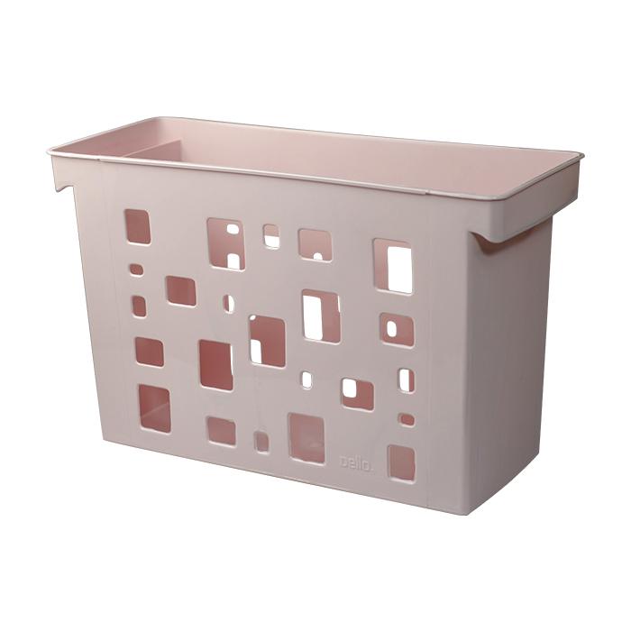 Caixa arquivo multiuso DelloColor rosa 0329.W Dello unid.