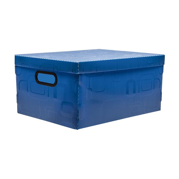 Caixa organizadora grande azul Dello 2172.C unid.