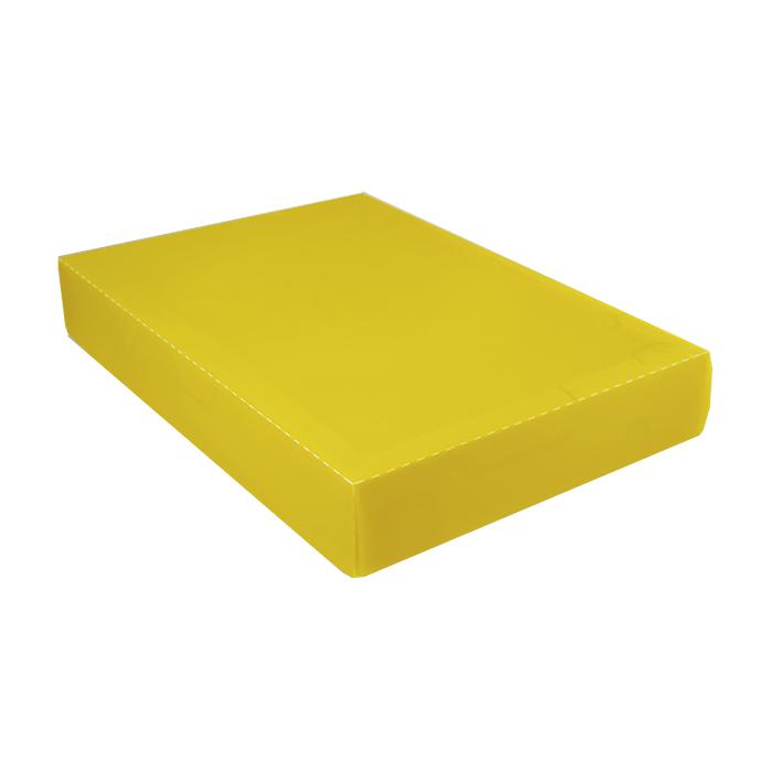 Caixa organizadora padrão camisa amarela 2174 Dello unid.