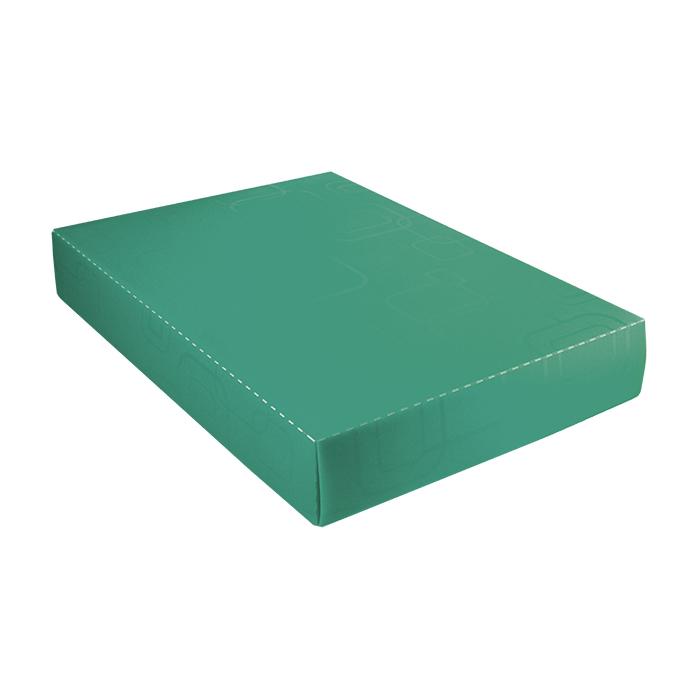 Caixa organizadora padrão camisa verde 2174 Dello unid.