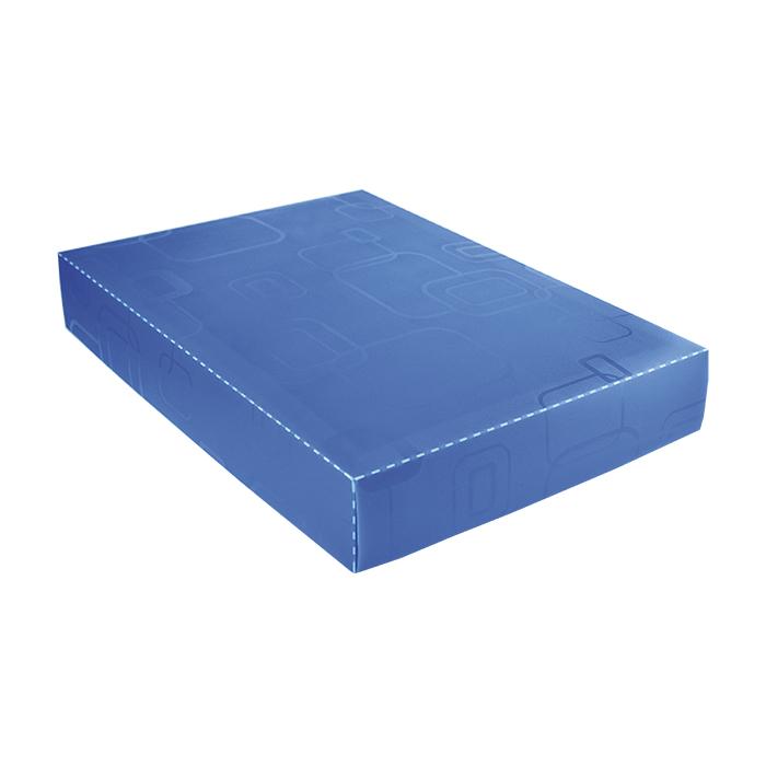 Caixa organizadora padrão camisa azul 2174 Dello unid.