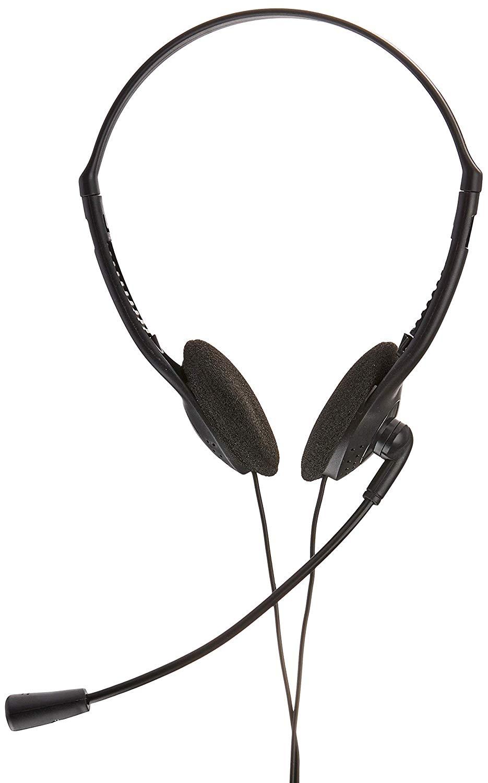 Headset com microfone preto/prata Multilaser PH002 unid.