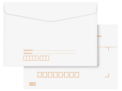 Envelope carta c/ cep 114 x 162 63/75 grs Branco unid.
