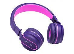 Fone de ouvido Pulse Blueetooth Fun rosa/roxo Multilaser PH217 unid.