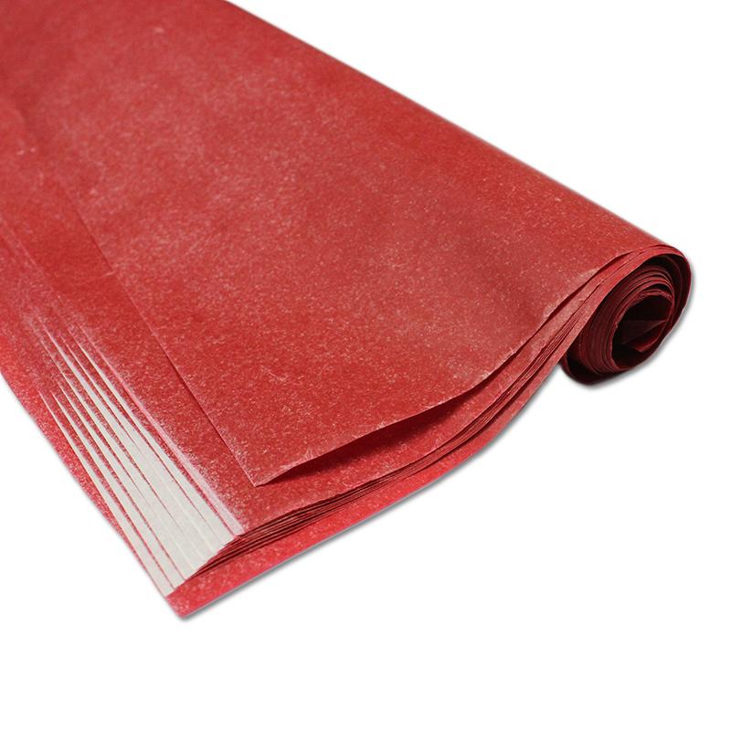Carbono para riscos e bordados 44 x 66 vermelho Printers caixa com 100 folhas