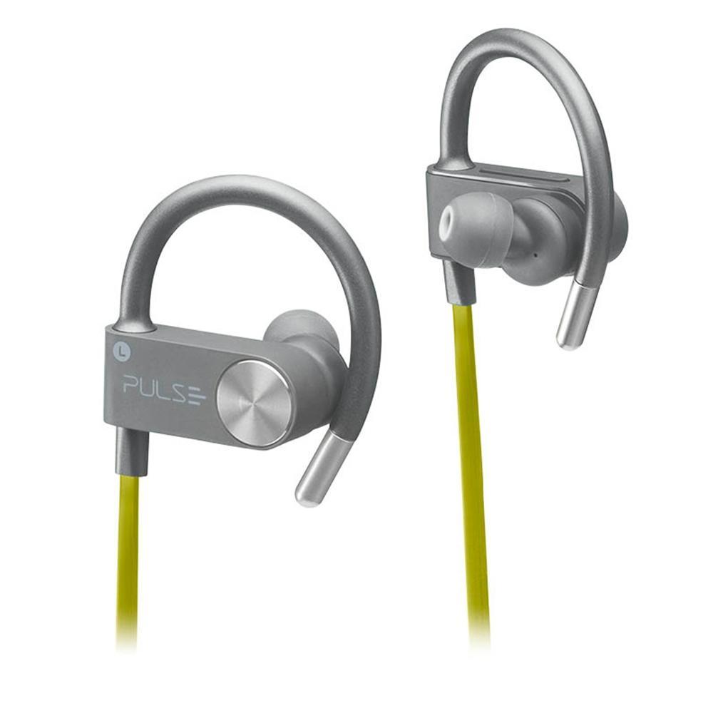 Fone de ouvido Earhook Sport Metallic Pulse amarelo Multilaser PH254 unid.