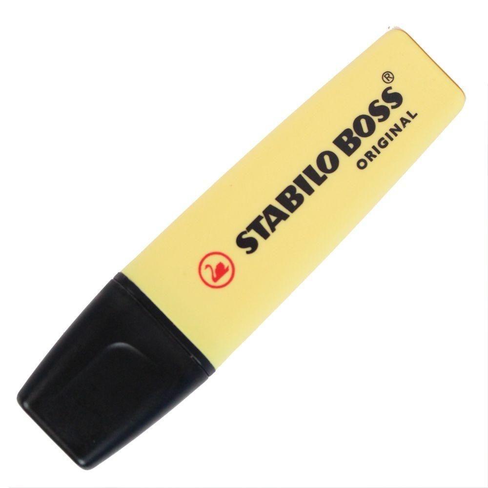 Caneta marca texto Stabilo Boss Pastel amarelo Stabilo 70/144 unid.