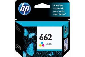 CABECA DE IMPRESSAO 662 CZ104AB 2ML COLOR HP UND