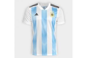 Camisa Argentina OFICIAL I 2018 EG Adidas unid.
